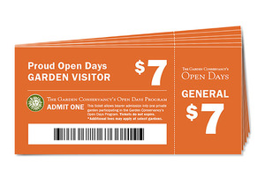 Book of Six Non-Member Open Days Tickets