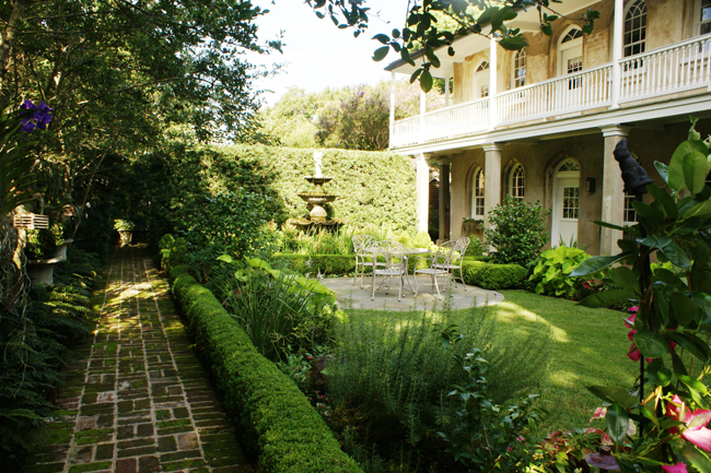 Garden of the capers motte house garden directory the for Landscaping rocks charleston sc