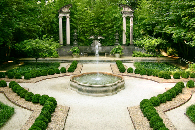 Grant Helps Restore Historic Swan House Boxwood Garden In Atlanta