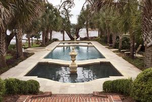 Garden of Mr. & Mrs. William H. Morris