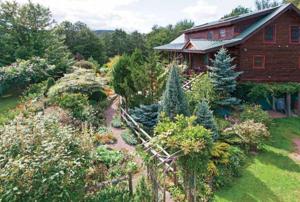 Mel & Peg's Rustic Cabin Cottage Garden