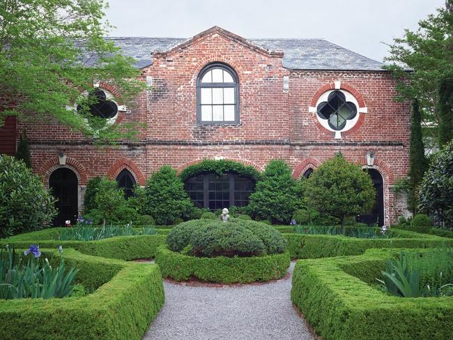 Isaac Motte Dart Wortham House Garden