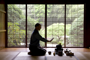Digging Deeper: Tea Ceremony at the John P. Humes Japanese Stroll Garden