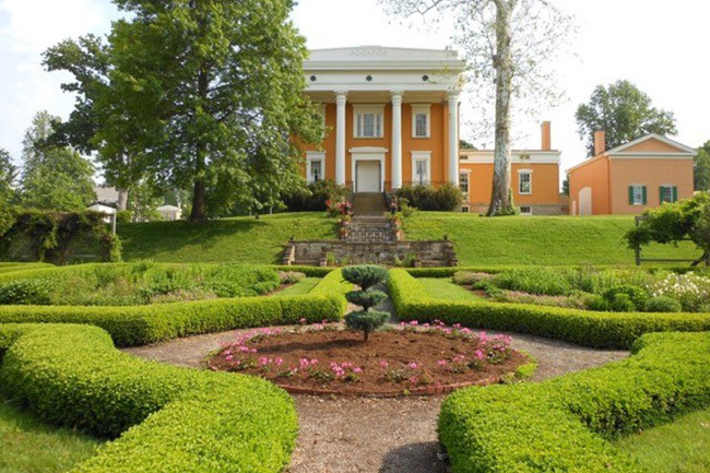 Lanier Mansion State Historic Site and Gardens : Garden Directory ...