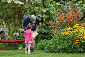Family Time! Garden to Table—A Family Celebration at Clock Barn