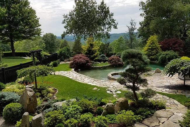 Japanese Gardens At Cedar Hill
