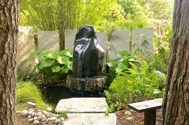 The Garden of Cherie Christiansen and Franz Arner
