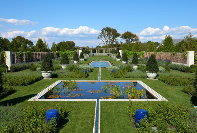 Renewal of the Blue Garden