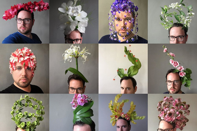 Garden Masters: Beyond the Crown—A Floral Headpiece Workshop