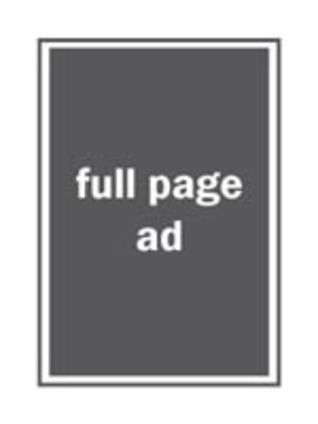 Full-Page Ad in Open Days Directory