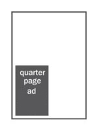 Quarter-page ad in Open Days Directory