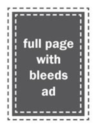 Full-page ad with bleeds in Open Days Directory