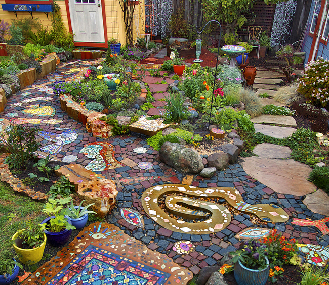 Digging Deeper: Art in Your Garden—Mosaics and More - CANCELED