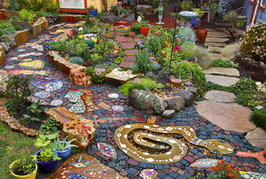 Digging Deeper: Art in Your Garden—Garden Mosaics and More - General admission